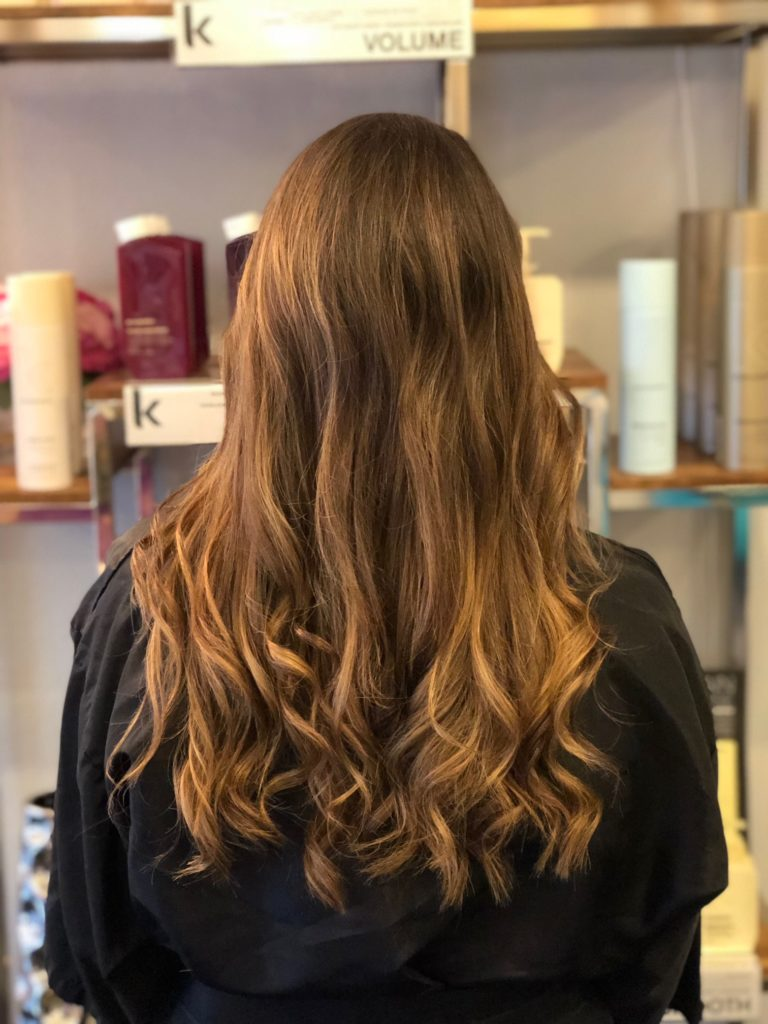Highlights With Dark Hair No Problem